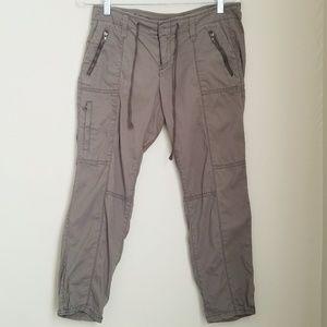 🆕️Loft Drawstring Cropped Cargo Utility Pants